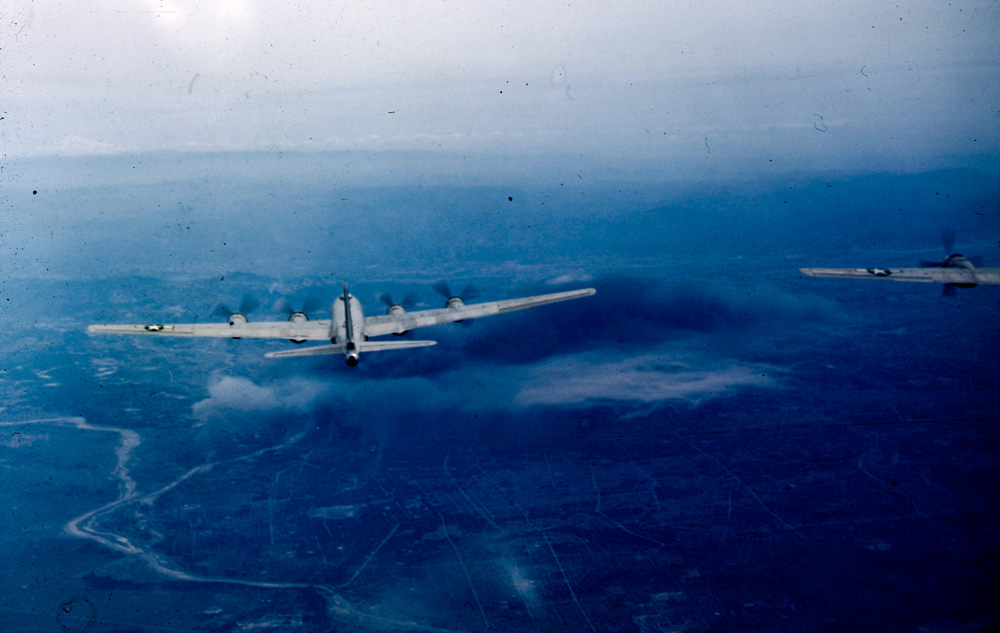 6th Bomb Group: B-29 Bombers, the Pacific War. Photo: ©Percy Tucker. All Rights Reserved.