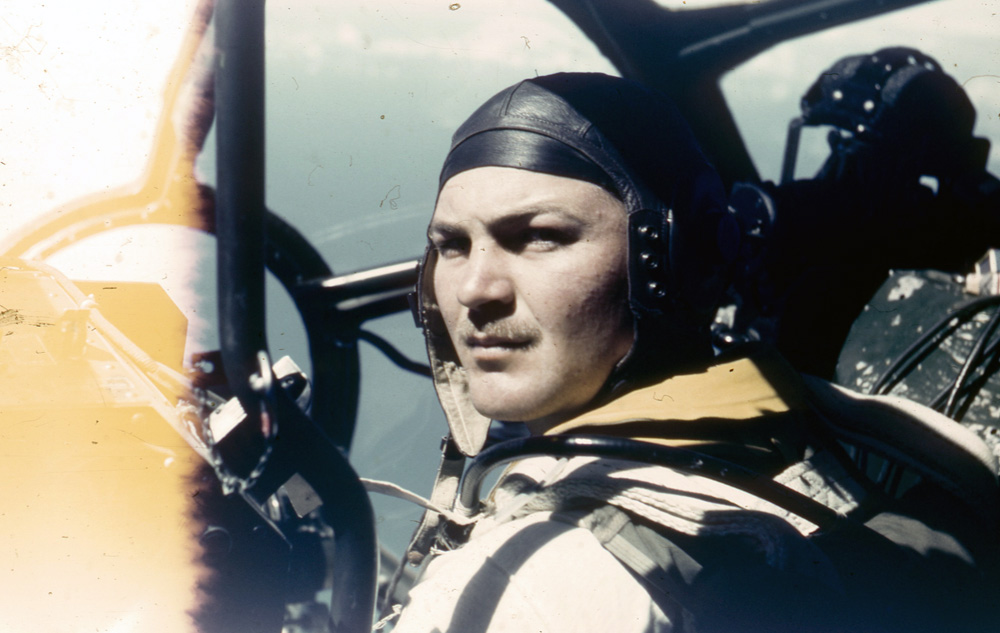 B-29 Pilot, Pacific War. Photo: ©Percy Tucker. All Rights Reserved.