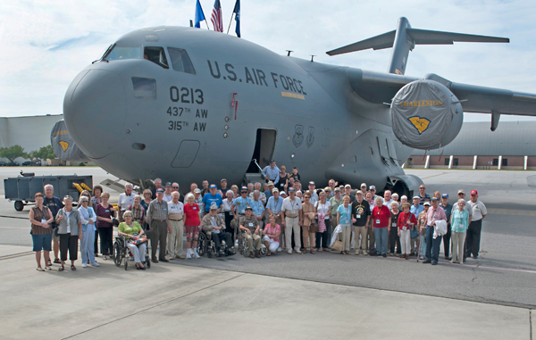 6th Bomb Group Association at Joint Base Charleston 2012