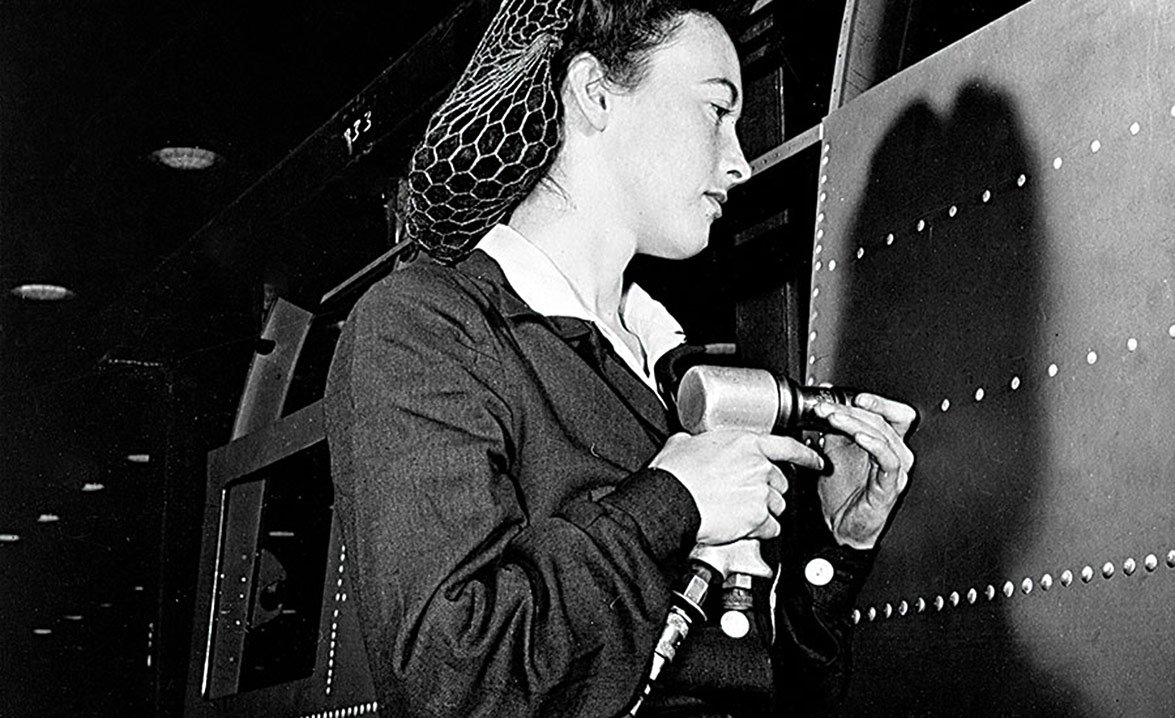 RIVETER AT BOEING -The Home Front Was Critical To Winning WWII