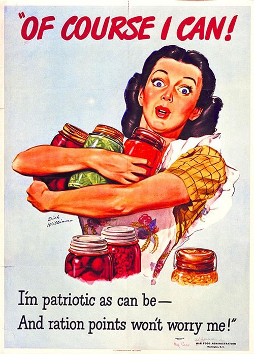 WW II Rationing poster