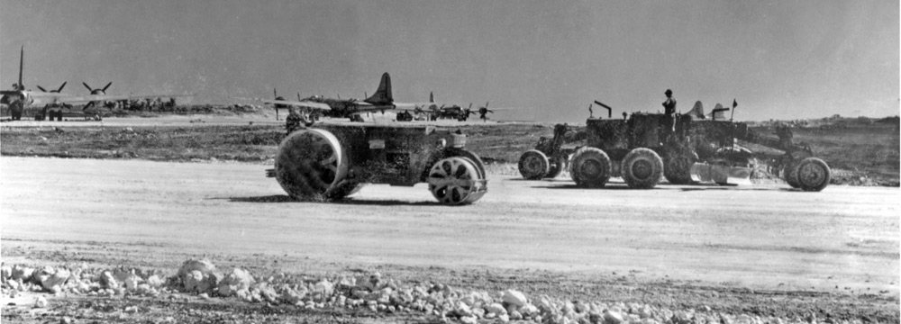 SeeBees constructing North Field on Tinian. ©Bill Webster. All Rights Reserved