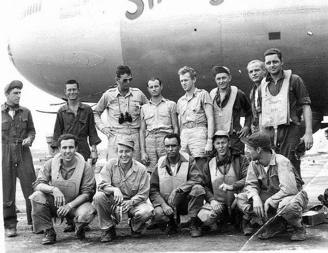 The crew of the Snooky, B-29 6th Bomb Goup
