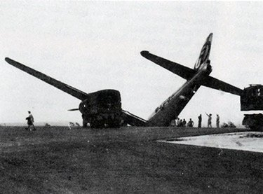 Crashed B-29 WWII War Over in Japan