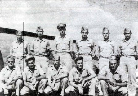 Sixth Bomb Group Headquarters Staff in May-Aug, 1945