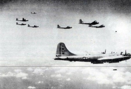 Sixth Bomb Planes Bomb Maug Island on Training Flight