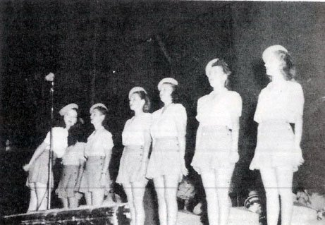 Tinian entertainment 6th Bomb Group